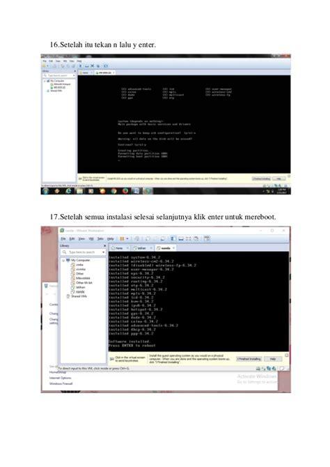 tutorial membuat jaringan lan dan hotspot dengan mikrotik tutorial cara membuat hotspot di mikrotik dengan vmware