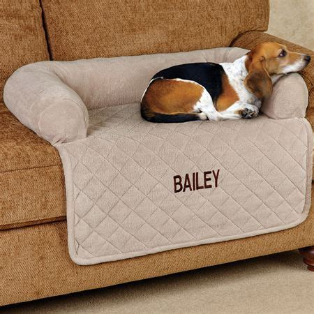 sofa dog covers microplush quilted pet cover with bolster pet