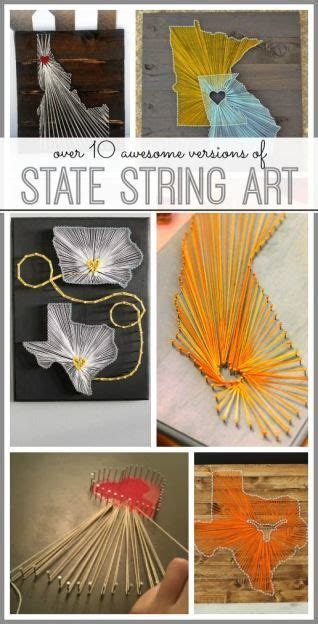 How To Make String State - state string string craft and crafty