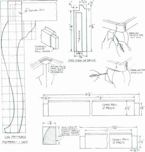 fine woodworking varnish queen anne table leg plans how