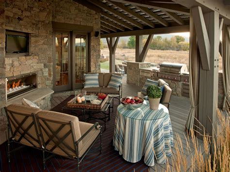 outdoor living rooms the great room design aesthetic one of comfort and quiet