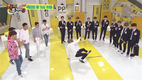 drakorindo happy together wanna one watch wanna one has a dance off and picks more character