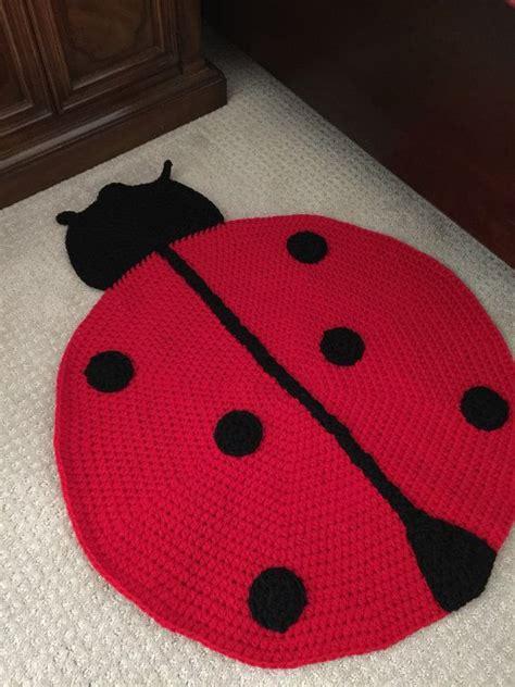 ladybug rugs best 25 crochet ladybug ideas only on crochet embellishments free crochet flower