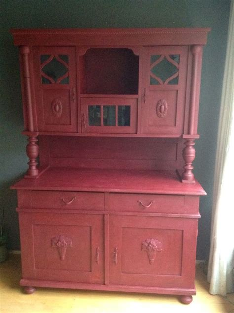 red chalk painted china cabinet 18 best d toth design images on annie sloan