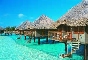 bungalow vacation water bungalows places sights