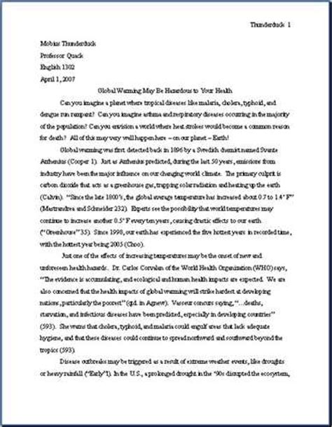How To Make A Research Paper Exle - how to write a research paper in mla format