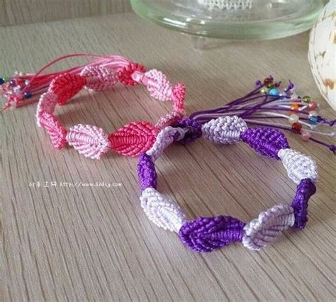 Macrame Craft Ideas - how to make macrame bracelets simple craft ideas
