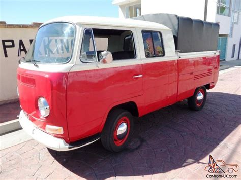 vw cer awnings for sale rare 1968 vw double cab deluxe pickup built like new