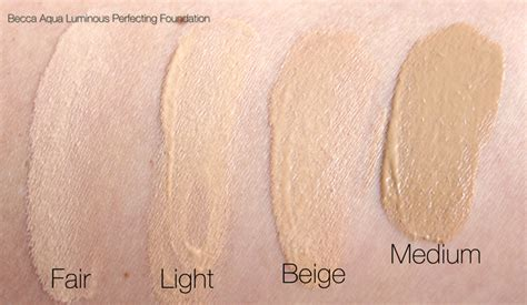 becca aqua luminous perfecting foundation in light foundation review becca aqua luminous perfecting