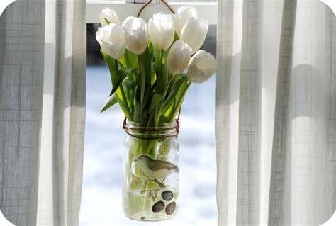 Hanging Vases by Gardenmama Hanging Window Vase Tutorial