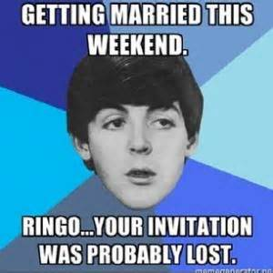 Getting Lost Meme - beatles jokes kappit
