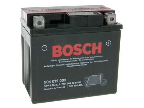 Motorrad Batterie Bosch by Batterie Sortiment Bosch Motorrad Roller Quad Atv