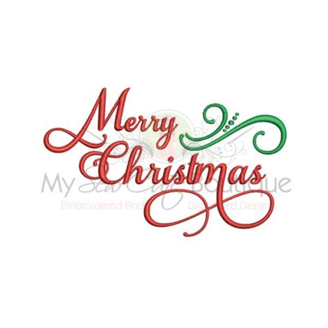 merry christmas embroidery designs holiday machine sayings machine embroidery designs