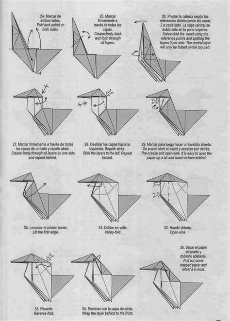 Origami Unicorn Diagram - unicorn origami paper origami guide