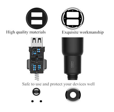 xiaomi roidmi 3s bfq04rm dual usb bluetooth car charger for mobile phone sale banggood
