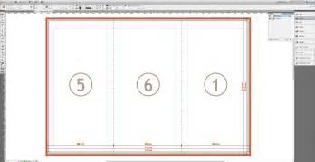 tutorial create a tri fold business brochure 187 saxoprint
