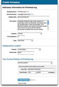 How To Create Company Profile been verified you can provide basic information about your company