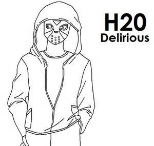 H2O Delirious Anime By Pokeczarelf On DeviantArt sketch template
