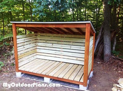 cord firewood shed  woodworking plans firewood