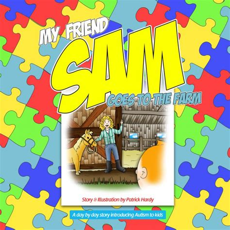 so your friend has autism books the fourth book is here my friend sam a book series