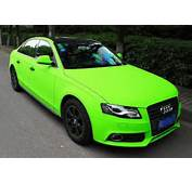 Lime Green Paint Job Car Pictures