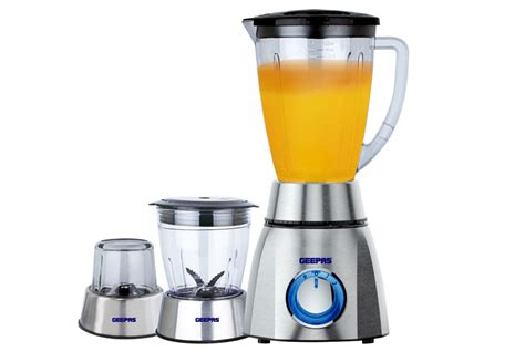 Brushed Stainless Steel Kettle And Toaster Set Blender Gsb5420 Geepas For You For Life