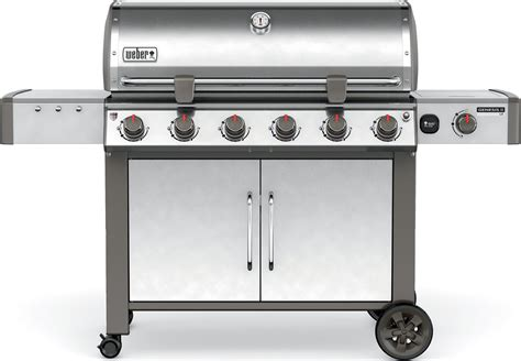 weber gas grill won t light weber genesis ii lx s 640 6 burner gas grill 68004001