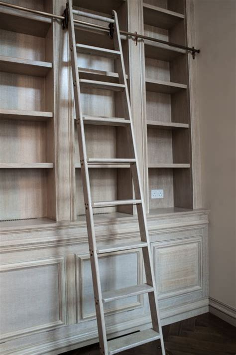 Rolling Ladder For Bookcase The 25 Best Ideas About Library Ladder On Library Bookshelves Bookcase With Ladder