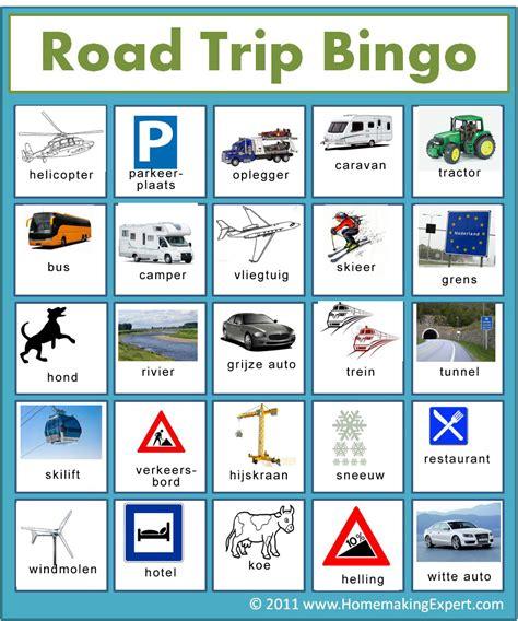 printable road trip bingo cards pin road trip bingo on pinterest