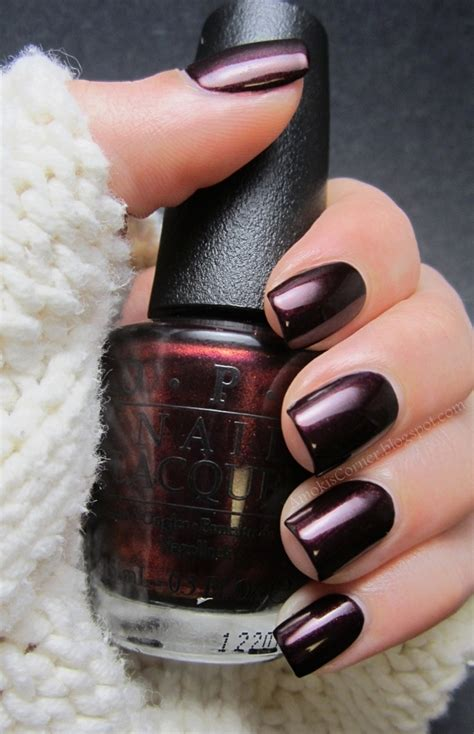the nail polish colors everyone will be wearing this fall amoki s corner opi every month is oktoberfest