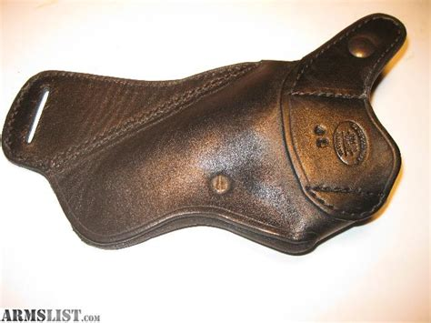 Black Leather For Sale by Armslist For Sale Black Leather Cross Draw Revolver Holster