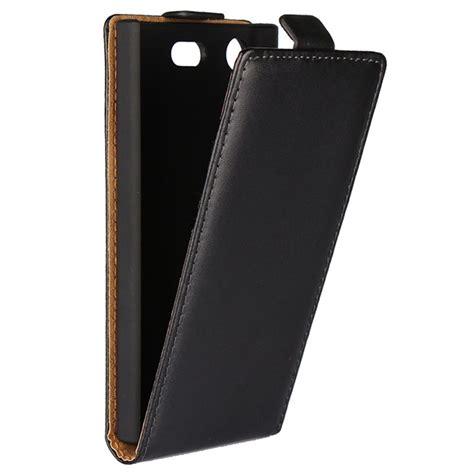 Flip Cover Sony Xperia Go St27i Ready Black sony xperia xz1 compact vertical flip black
