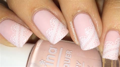 Wedding Nails by Bridal Nails Wedding Nails Lace Nails Nail Sting