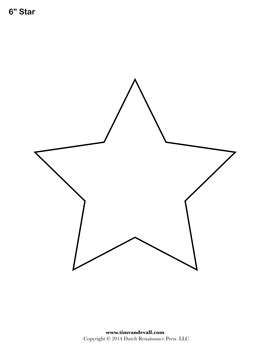 printable star shape cut out search results new