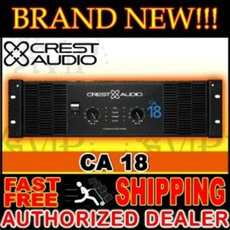 Power Lifier Crest Audio Ca 18 crest audio ckv 800 professional power lifier 2 channel