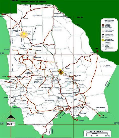 mapa de carreteras de asturias tama 241 o mapa de chihuahua estado de chihuahua mexico newhairstylesformen2014 com