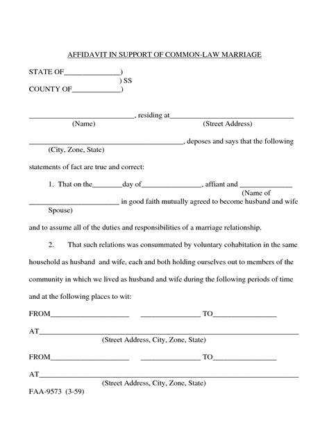 Affidavit Support Letter Marriage Best Photos Of Sle Marriage Affidavit Personal Knowledge Sle Affidavit Of Marriage
