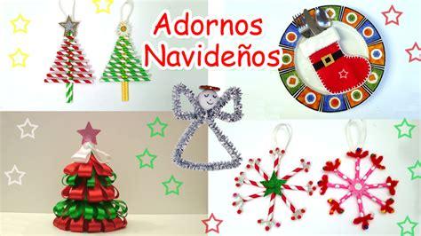 como hacer adornos navide os en casa adornos navide 241 os manualidades para todos