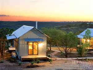 hill country prefab house green design corrugated