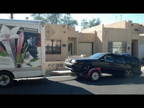 u haul boat trailer rental u haul car trailer towing experience youtube