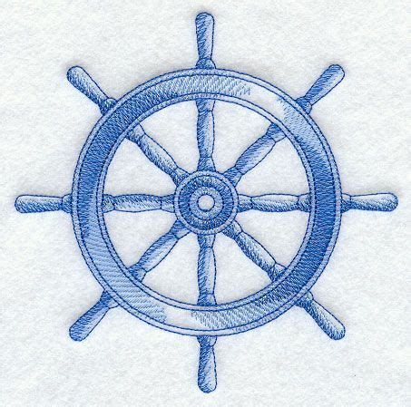 boat steering wheel drawing ship s wheel sea sketch tattoo pinterest i am new