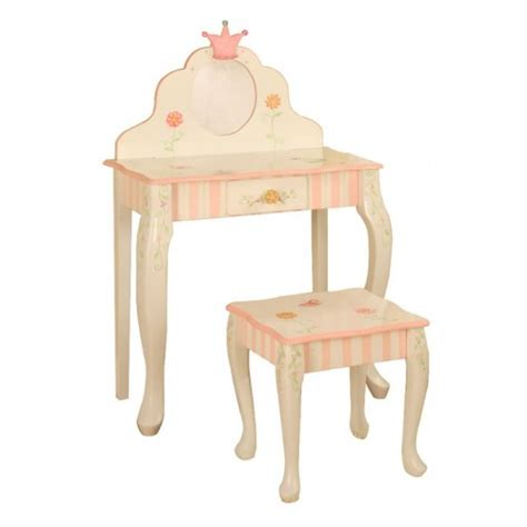 vanity table and stool princess and the frog