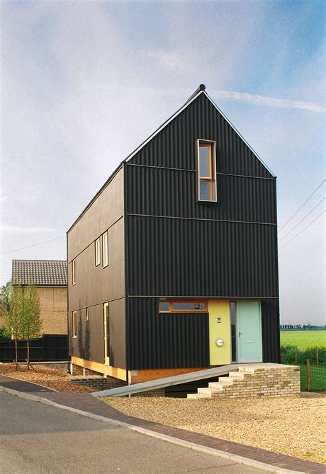 mole architects  black house mole architects