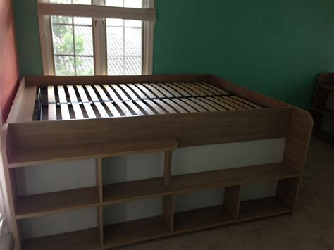 space  bed  storage