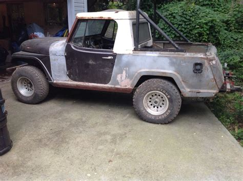 jeep jeepster for sale many parts extra 1967 jeep commando pickup project for sale