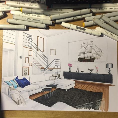 sketchbook interior design the 25 best interior design sketches ideas on