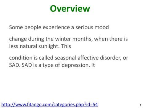 Seasonal Depression L by Seasonal Affective Disorder