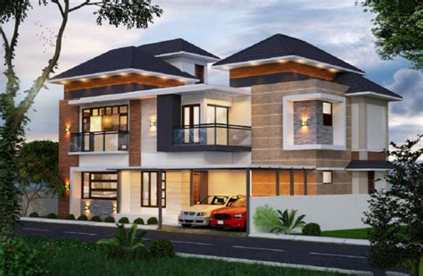 western style house design with sloping roof amazing