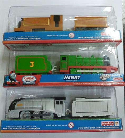 Fisher Price And Friend Motorized Henry fisher trackmaster battery motorized spencer henry duke 3 lots ebay