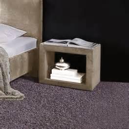 nachttisch quadratisch g 252 nstige nachtkonsole offen gestaltet mit chenille caserta